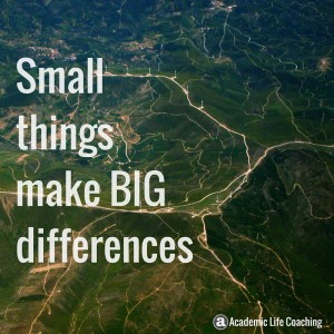 Small things make big differences