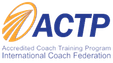 Logo of International Coach Federation ACTP program